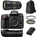 Nikon D610 Body w/ AF-S 24-70 F2.8G + Accessories Bundle!