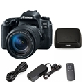 Canon EOS 77D DSLR Camera w/ 18-135mm Lens  <br> w/ CS100 1TB Dock ** Bundle Sale! **