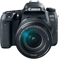 Canon EOS 77D DSLR Camera w/ 18-135mm Lens