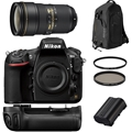 Nikon D810 Body w/ AF-S 24-70 F2.8G + Accessories Bundle!