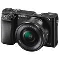 Sony a6000 w/ 16-50mm Power Zoom (Black) (ILCE6000L/B)