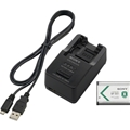 Sony Battery and Charger Kit w/ NP-BX1 Battery (ACC - TRBX)