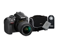 Nikon D3400 DSLR Camera w/ AF-P 18-55mm G VR Lens Kit (Bundle)