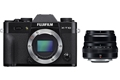 Fujifilm X-T10 Body (black) with XF 35mm f/2 R WR Lens (black)