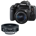 Canon EOS Rebel T6i<br> w/ EFS 18-55mm IS STM & EF-S24mm F2.8 STM