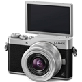 Panasonic Lumix DC-GX850 Micro Four Thirds Camera w/ 12-32mm Lens (Silver)