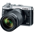 Canon EOS M6 Mirrorless Camera w/ 18-150mm Lens (Silver)