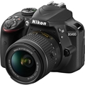 Nikon D3400 DSLR Camera w/ AF-P 18-55mm G VR Lens Kit (Black)