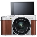 Fujifilm X-A5 Mirrorless Digital Camera w/ 15-45mm Lens (Brown)