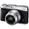 Fujifilm X-E3 Digital Camera w/ Fujinon 23mm F2.0 Lens<br> (Silver)