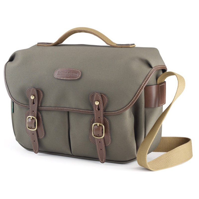 Billingham Hadley Pro (Sage FibreNyte, Chocolate Leather)