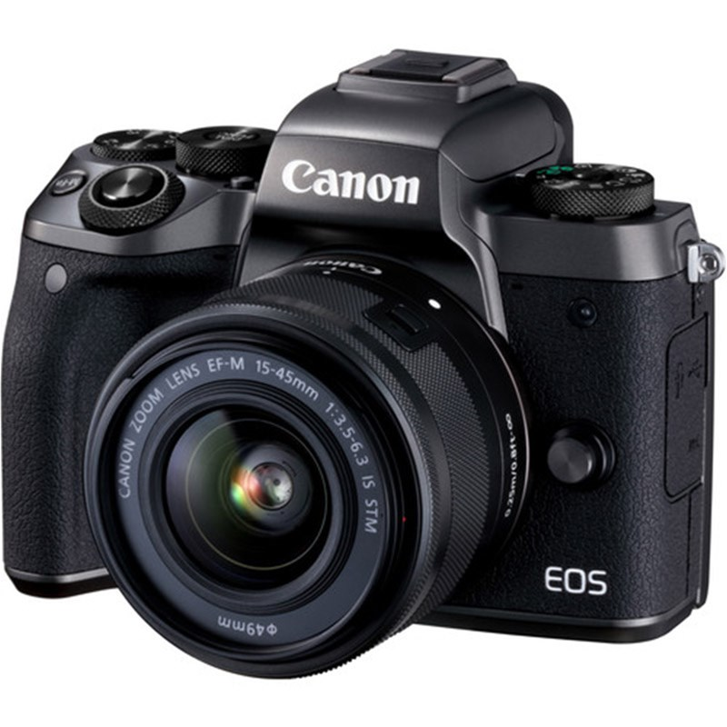 Canon EOS M5 Mirrorless Camera w/ 15-45mm Lens