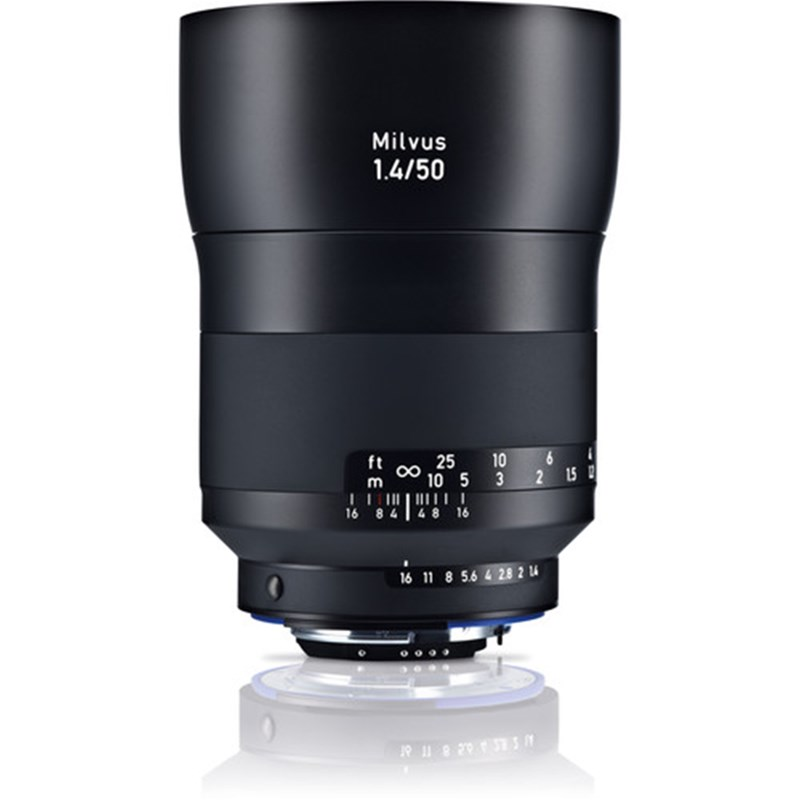 Zeiss Milvus 50mm F1.4 ZE Lens (for Canon EF)