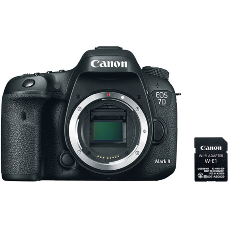 Canon EOS 7D Mark II w/ W-E1 Wi-Fi Adapter