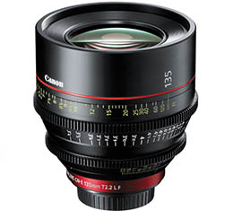 Canon CN-E 135mm T2.2 L F Cinema Lens (EF Mount)