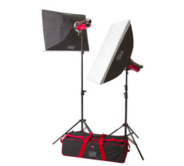 Aurora Orion 200Ws Studio Lighting Softbox Kit