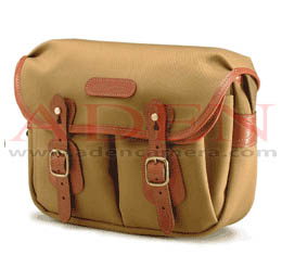 Billingham Hadley Small(Khaki canvas, tan leather, brass fittings)
