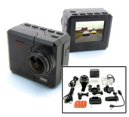 CamOne Infinity 1080p All-Weather Digital Camera with underwater housing