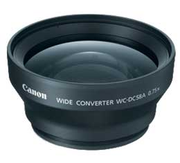 Canon WC-DC58A Wide Converter Lens