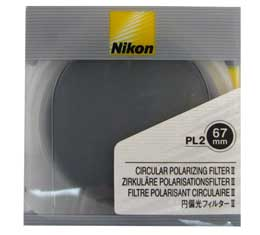 Nikon PL2 67mm Circular Polarizing Filter
