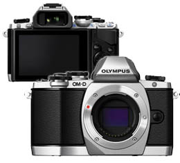 Olympus OM-D E-M10 Body (Silver) (Micro Four Thirds Mount)