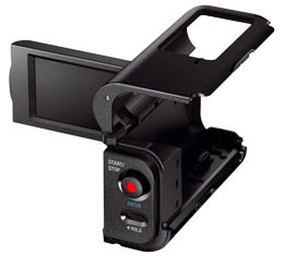 Sony AKA-LU1 - Camcorder Cradle w/ LCD (for Action Cam)
