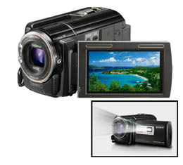 Sony Handycam HDR-PJ50V- 220GB Full HD Camcorder with Projector