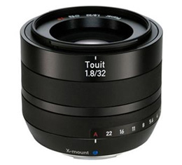 Zeiss Touit 32mm F1.8 (Fujifilm X Mount)