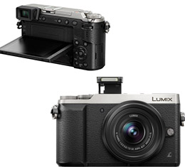 Panasonic Lumix DMC-GX85 w/ 12-32mm Lens (Silver)