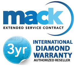 Mack Worldwide International Diamond 3 Years Warranty(under $6,000.00)