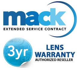 Mack Worldwide 3 Years Professional LENS Warranty(under $7,500.00)