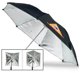 "Photoflex 45"" Adjustable Silver Umbrella (UM-ADH45)"