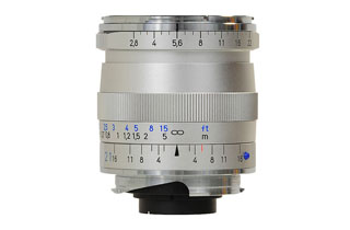 Zeiss 21mm f2.8 Biogon T* ZM Silver (M Mount)