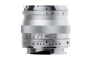 Zeiss 50mm f2 Planar T* ZM Silver (M Mount)