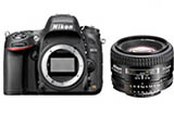 Nikon D610 body w/ Nikkor AF 50mm f1.4D** Sale until April 16th - MAP Price **