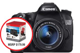 Canon EOS 70D Body with Bonus Accessory Kit ** Black Friday Sale until November 30th!**