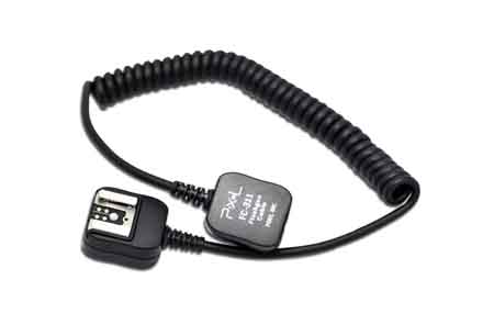 Pixel FC-311 Flashgun Off Camera TTL Cable (Canon)