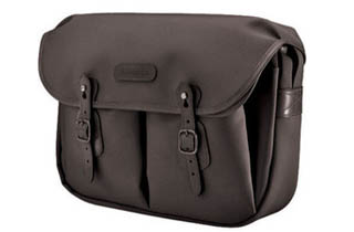 Billingham Hadley Large(Black canvas, Black leather)
