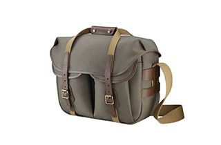 Billingham Hadley Large Pro (Sage, FibreNyte, Chocolate Leather)