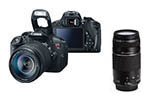 Canon Rebel T5i w/ EF-S 18-55mm IS STM & EF 75-300mm USM Combo