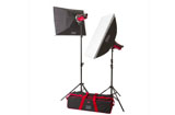 Aurora Orion 400Ws Studio Lighting Softbox Kit