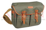 Billingham Hadley Large(Sage Fibrenyte, Tan Leather, Brass fittings)