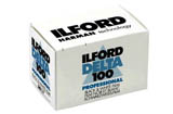 Ilford Delta 100 Black & White Print Film - 135-36exp