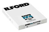 Ilford FP4 Plus 125 Black & White Print Film - 4x5 Sheet Film (25shts)
