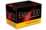 Kodak Professional Ektar 100 Color Print Film- 135-36exp