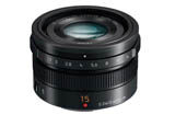 Panasonic Leica DG Summilux 15mm F1.7 Asph. <br> (Micro Fourth Thirds Mount)