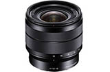Sony 10-18mm F4 OSS E-mount Wide Lens (SEL1018)
