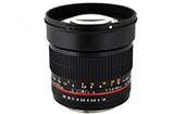 Rokinon 85mm F1.4 Aspherical (For Micro Four Thirds - RO85MMFT)