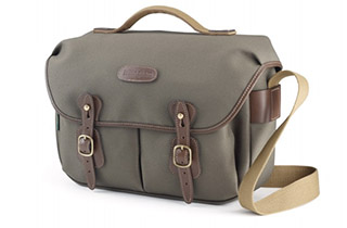 Billingham Hadley Pro(Sage FibreNyte, Chocolate Leather)