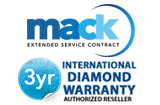 Mack Worldwide International Diamond 3 Years Warranty(under $5,000.00)